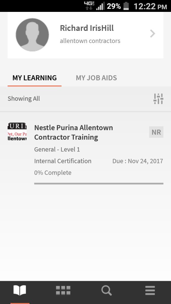 Nestle Purina LMS Mobile | PCS Custom Training Solutions